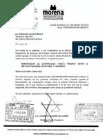 """new arrivals cfa53 dd8a6 Memorándum de Cooperación (""""MOC"""") firmado entre el Instituto Nacional  Electoral y Facebook"""