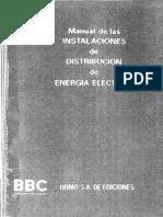 Manual de Instalaciones de Distribucion de Energia Electrica