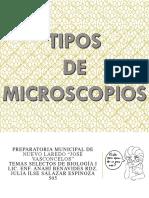 Tipos de Microscopios