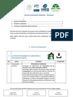 1. Protocolo de Evaluación Alumno-docente