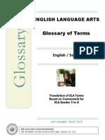 Ela Glossary Somali