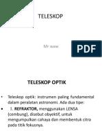 Mr Waw. Teleskop