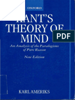 Karl Ameriks-Kant's Theory of Mind_ an Analysis of the Paralogisms of Pure Reason (2000) (1)