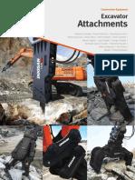Heavy Excavator Attachments En