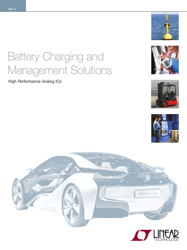 Linear Battery Charger Brochure 2016pdf Lithium Ltc4151 Voltage And Current Monitoring Device Datasheet Ion