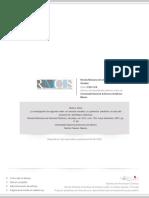 La Investigación de Segundo Orden en Ciencias Sociales y Su Potencial Predictivo