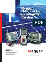 Megger Electrical Test Instruments Catalog.pdf