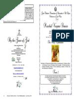 2018 22 April Paschal Vespers 3 Pascha Holy Myrrhbearers