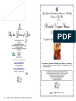 2018 23 April Paschal Vespers St George