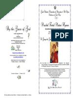 2018 - 23 April - St George Matlit Hymns