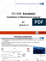 XO-508 Escalator_Installation & Maintenance Manual(2)
