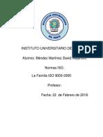 Reporte ISO