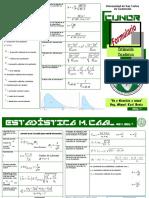 Formulario Bioesta Cap 6 Miguel Caal
