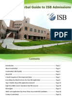 CrackVerbal's Guide to ISB Admissions