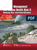 Disaster Management and Human Health Risk II