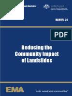 Manual 24 Reducing the Community Impact of Landslides