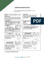 Cours - Sciences Physiques Oscillations Forcées - Bac Sciences Exp (2014-2015) Mr Sdiri Anis