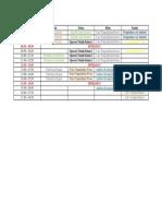 Jadwal Pelajaran Sem 4
