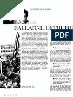 ARTICLE - BENICHOU, Pierre - OBS0485_1974 02 25 - Fallait-il Detruire La Bretagne - Entretien Avec Yves PERSON Et Richard MARIENSTRAS