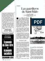 ARTICLE - LE VAILLANT, Yvon - OBS0412_1972 10 02 - Les Guerilleros de Saint-Malo