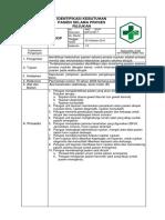 SOP Identifikasi Kebutuhan Pasien Selama Proses Rujukan