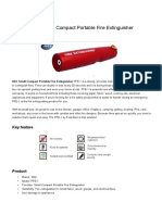 Dk l Small Compact Portable Fire Extinguisher
