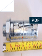 Electroplated Mechanical Expansion Bolt