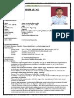 Cv and Application Letter Simon Sorimuda