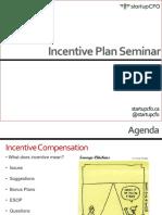 Incentive Plan Seminar