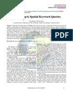 Moving Top-k Spatial Keyword Queries