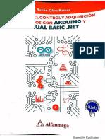 Monitoreo, Control y Adquisicion de Datos Con Arduino y Visual Basic.net