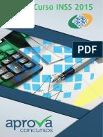 Aprova Concursos - Caderno de Questoes Direito e Legislacao Previdenciaria Inss 2015