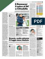 La Gazzetta Dello Sport 25-02-2018 - Serie B - Pag.1