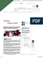 Feminismo de hoje é tão reacionário quanto o machismo neandertal - 02:01:2018 - João Pereira Coutinho - Colunistas - Folha de S.Paulo