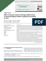 Daun Kelor sebagai antiepilepsi (Jurnal)
