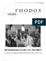 Summer 1998 Orthodox Vision Newsletter, Diocese of the West