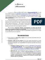 2008.06.30. Recomendaciones FEAA-Verano 2008-1a