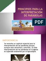Principios Para La Interpretación de Parábolas