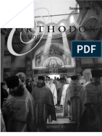 Summer 2001 Orthodox Vision Newsletter, Diocese of the West