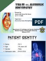 CHF NYHA III ec. ALCOHOLIC CARDIOMYOPATHY.pptx