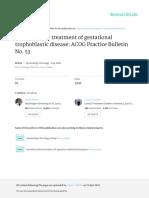ACOG Diagnosis and Treatment 042315