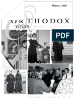 Winter 2003 Orthodox Vision Newsletter, Diocese of the West