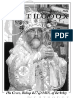 Spring 2004 Orthodox Vision Newsletter, Diocese of the West