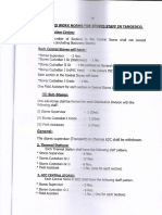 Draft Settlement Work Load Revision 1
