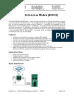 Electronic Compass IC - HM55B(Documentation)