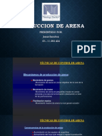 Produccion de Arena