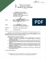 Bureau of Customs Mem-2018-02-021 -- Disposition of Overstaying Cargoes