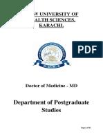 Course Outline MD PROGRAM-20151107