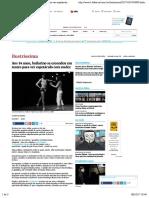 Aos 14 anos, bailarino se escondeu em teatro para ver espetáculo com nudez - 08:10:2017 - Ilustríssima - Folha de S.Paulo