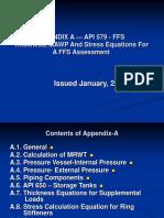 Appendix a — API 579 - Ffs